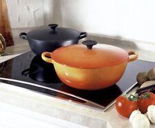 BNIB Le Creuset 32cm Bouillabaisse (Marmite) Casserole Pot Matt Black