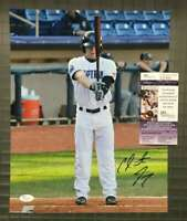 Clint Frazier Jsa Coa Autograph 11x14 Early Photo  Hand Signed Authentic