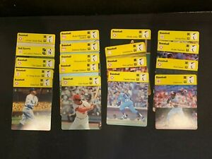 1977-79 Huge Large Collection Lot 75+ Sportscaster MLB Baseball Cards