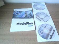 PC Serif Movieplus  DIGITAL VIDEO EDITING PROGRAM CD & RESOURCE CD - WINDOWS XP