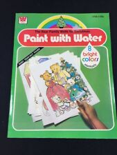 Vintage 80s Paint With Water by Whitman The Bear Family Waits for Christmas NOS