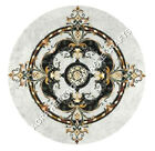 """48"""" Buy Marble Top Dining Hallway Table Italian Marquetry Inlay Art Decor H4992A"""