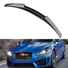 100% Real Carbon Fiber M4 Rear Trunk Spoiler Wing For Jaguar XF 2016 2017 2018