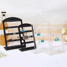 Earrings Display Stand Holder Jewelry Show Rack Acrylic Organizer
