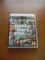 Grand Theft Auto V (Sony PlayStation 3, 2013) COMPLETE MAP MANUAL FAST SHIP PS3