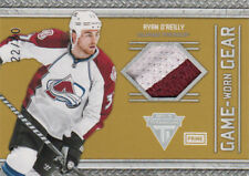 11-12 Titanium Game Worn GEAR PRIME xx/50 Made! Ryan O'REILLY #21- Avalanche