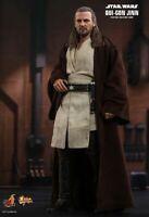 Hot Toys Star Wars The Phantom Menace Qui-Gon Jinn MMS525 1/6 Scale Action Fi...