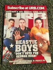 Beastie Boys 18x24 Urb Magazine cover poster September 2004 Rare Oop