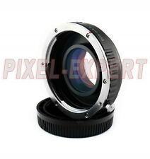 ADATTATORE PER CANON EOS MICRO 4/3 SPEED BOOSTER OLYMPUS PANASONIC ADAPTER RING