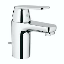 Grohe Eurosmart Cosmopolitan Basin Sink Mixer Tap & Pop Up Waste Chrome 3282500L