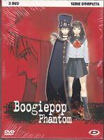3 Dvd Box Cofanetto BOOGIEPOP PHANTOM serie completa nuovo 2000