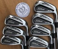 Titleist 716 AP2 Irons 4 - PW - NIPPON STIFF SHAFTS - 1/4 OF AN INCH LONGER