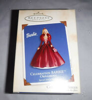 Hallmark Keepsake Ornament Barbie Christmas Celebration Barbie 2002 Special Ed