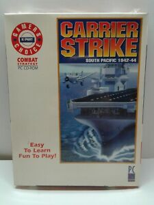 Carrier Strike South Pacific 1942-44 Video Game - (PC 1995) Brand New Sealed