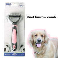 Dog Brush for Shedding Cat Grooming Comb Tools Hair Pet Trimmer &Stretch Ball