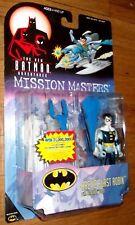 MOC SEALED THE NEW BATMAN - ARTIC BLAST ROBIN  - mission masters figure