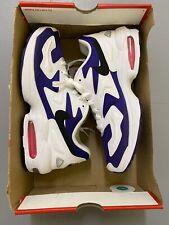 Nike Air Max 2 Light White Black Court Purple Mens Size Uk 8