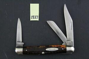 Case XX 1940-1964 6347 HP Red Bone Stockman Pocket Knife 1927