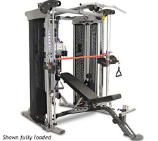 Inspire FT2 Functional Trainer Cable Cross Over Smith Machine Home Gym Package