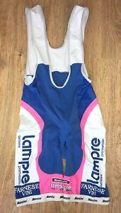 Lampre Farnese Vini SMS Santini cycling bib shorts size XL