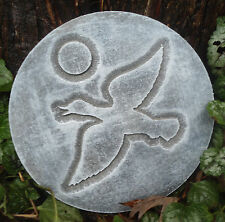 plastic duck plaque mold  garden plaque / stepping stone