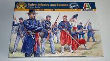 Italeri Union Infantry and Zouaves, Escala 1:72 Nº 6012 Maquetas NUEVO / NEW