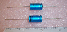 QTY (9)  330uf 10V AXIAL ALUMINUM ELECTROLYTIC CAPACITORS 2222-016-14331 PHILIPS