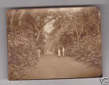 CONGO . BRAZZAVILLE . route de la Milice ... vers 1900 ..