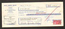 """PARIS (VIII°) MATERIEL de SONDAGE """"Société CRAELIUS"""" en 1965"""
