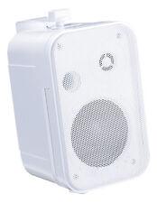"e-audio 6.5"" 2 Way Mini Speaker (8 Ohms 200 W) White"