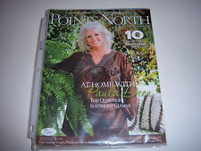 PAULA DEEN COOKING SHOW HOST,POINTS NORTH JSA/COA SIGNED MAGAZINE