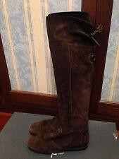 Vitulli stivali di camoscio colore marrone Tg.38 ORIGINALI!