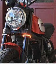New Rage Cycles Rage 360 Fork Turn Signals Ducati Scrambler 800 400 52MM