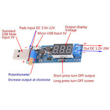 DC-DC USB step up/down power supply module boost converter 5V to 3.3V/12V OI