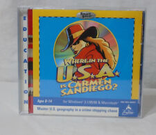 WHERE IN THE WORLD IS CARMEN SANDIEGO? * PC Game - CD-Rom - 2000 Geography
