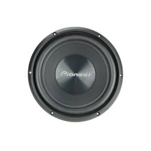 """Pioneer TS-A100D4 1300 Watts Max 10"""" Dual 4 Ohms Voice Coil Car Audio Subwoofer"""
