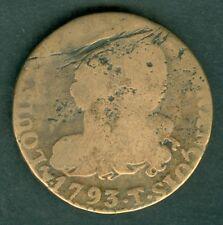 MONNAIE 6 DENIERS 1793 T   PETIT B   N°302