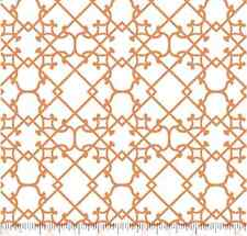 Natural Splendor Dark Apricot Iron Work 100% cotton Fabric by the yard