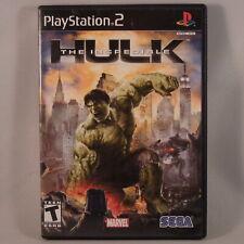 =THE INCREDIBLE HULK (PS2 2008 Sega) SLUS 21765