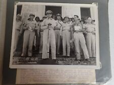 WW2 General MacArthur Handing Over Civil Rights To President Osmena October 1944
