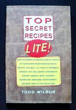 Top Secret Recipes Lite! by Todd Wilbur (1998, Paperback)
