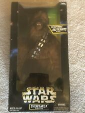 """NEW 1998 Kenner Star Wars 12"""" Action Collection Figure Chewbacca FACTORY SEALED"""