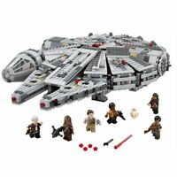 Star Wars Spacecraft Building Blocks LEGO Kessel Run Millennium Falcon