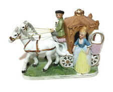 Horse With Carrage and Passanger Beautiful Ornament Decor Christmas Gift