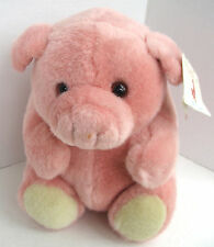 Roly Poly Gang Pink Pig Pot Belly Plush Vintage Caltoy Stuffed Animal New NWT