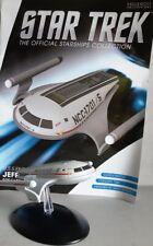 Star Trek U.S.S Enterprise Shuttle jefferies concept bonus Edition #18 Eaglemoss