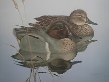 Dave Seller's 2 Duck's on Pond LTD ED S/N Print #195