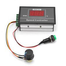 DC 6-60V 12V 24V 36V 48V 30A Adjustable PWM Motor Speed Controller Digital DC