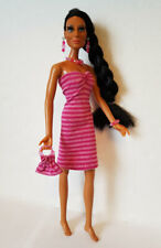 Handmade Clothes DRESS, PURSE & JEWELRY for vintage Mego Cher doll NO DOLL d4e