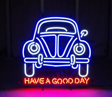 "New Vintage Car Garage Have A Good Day Light Neon Sign 32""x24"""
